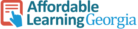 """Affordable Learning Georgia Community Portal"" icon"