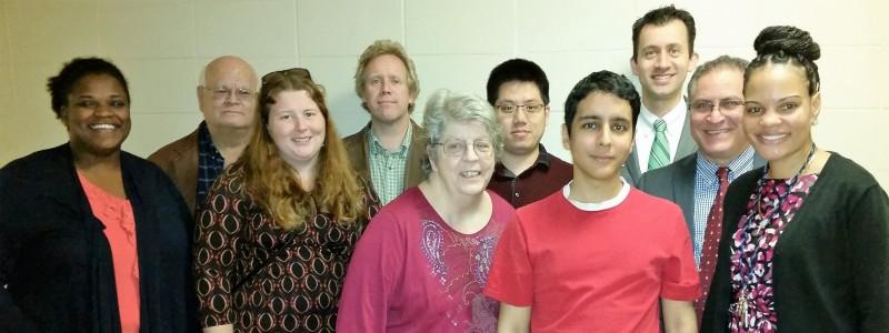 Image of German Vargas, Jose Lugo, Laura Lynch, Jamil Mortada, Treg Thompson, Victor Vega