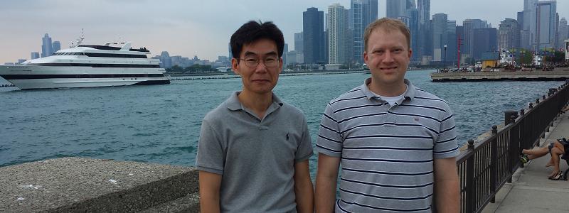 Image of Kevin Floyd and Myungjae Kwak