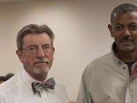 image of Michael Goodroe and Berhanu Kidane