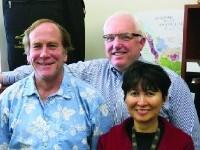 image of John Isenhour, Ophelia Santos, and Charles Marvil