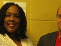 image of Hema Oshoone Mason and Mark Thomas